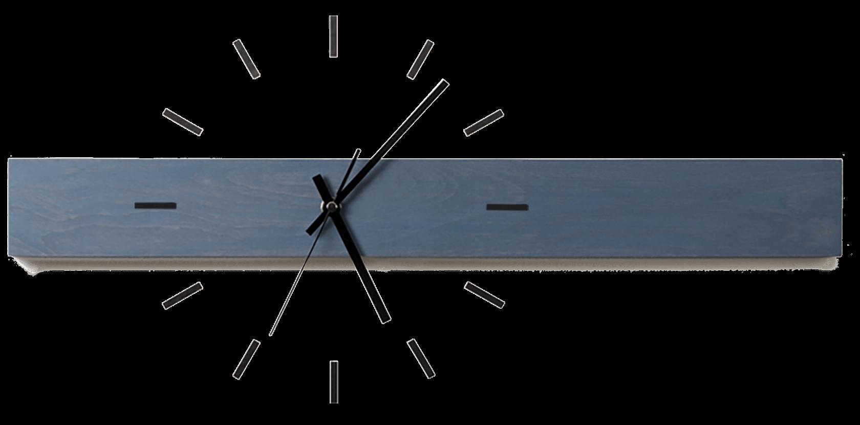 Design wanduhren aus holz mit zifferblatt als wandtattoo - Design wanduhr ...