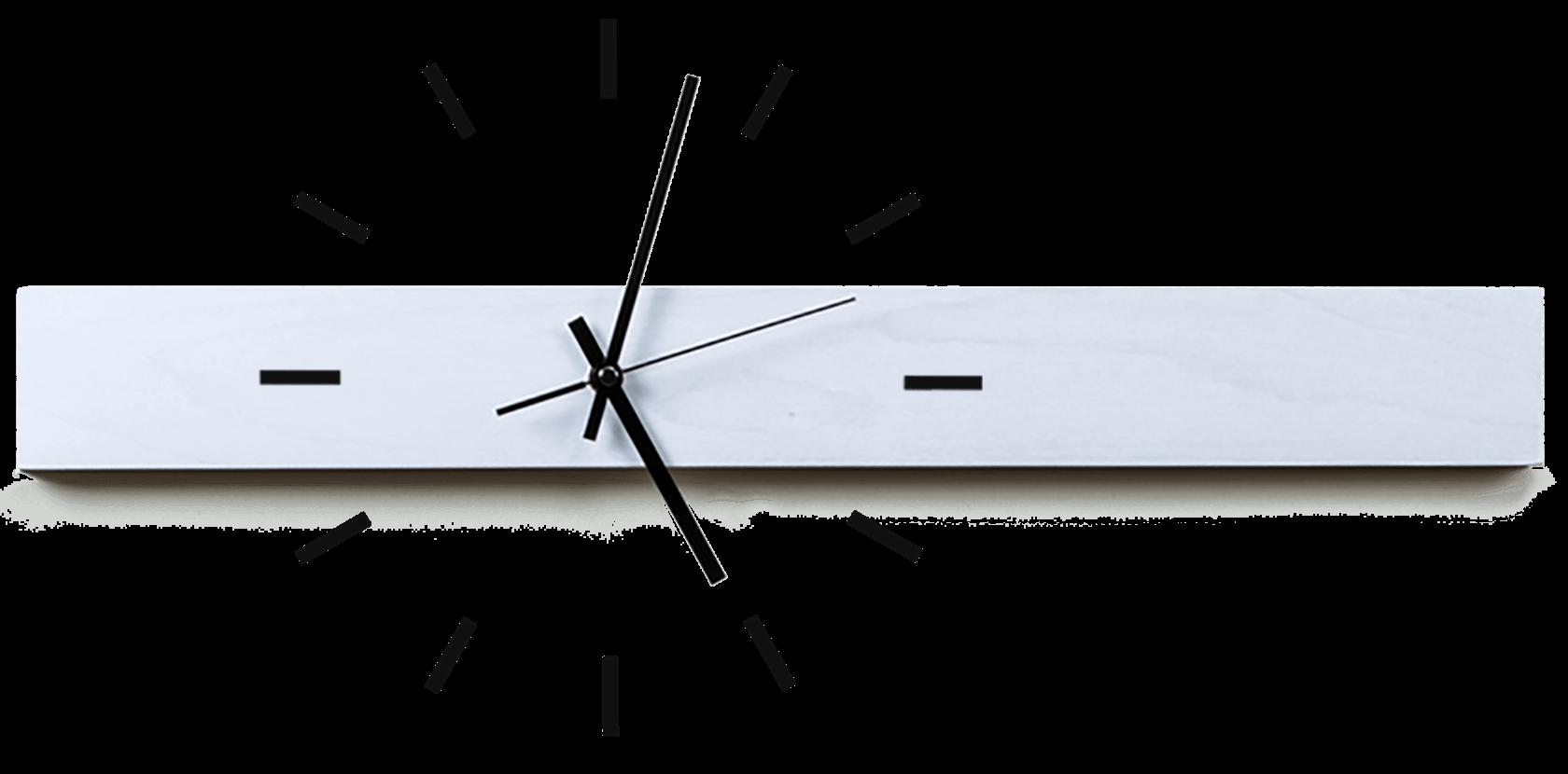 design wanduhren aus holz mit zifferblatt als wandtattoo. Black Bedroom Furniture Sets. Home Design Ideas