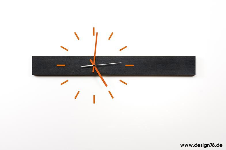 Design wanduhr buche schwarz ge lt online kaufen for Design versand